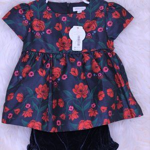 Gymboree Baby Girl 2 Piece Set.